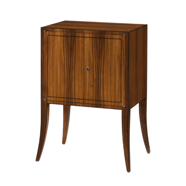 Keno Brothers Rosewood Veneer Cabinet