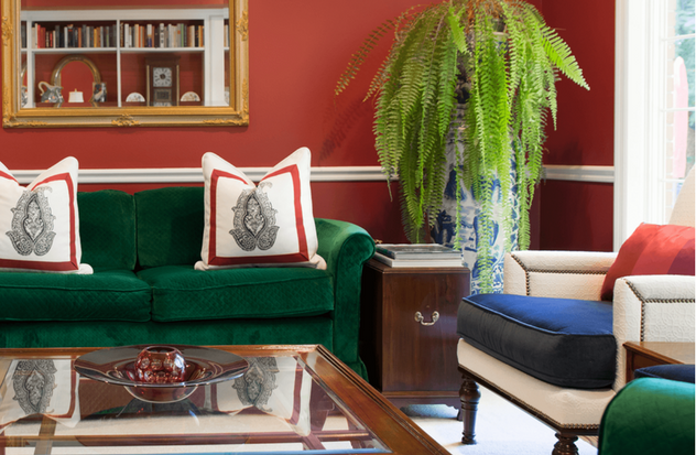 Ruby Charmed Living Room