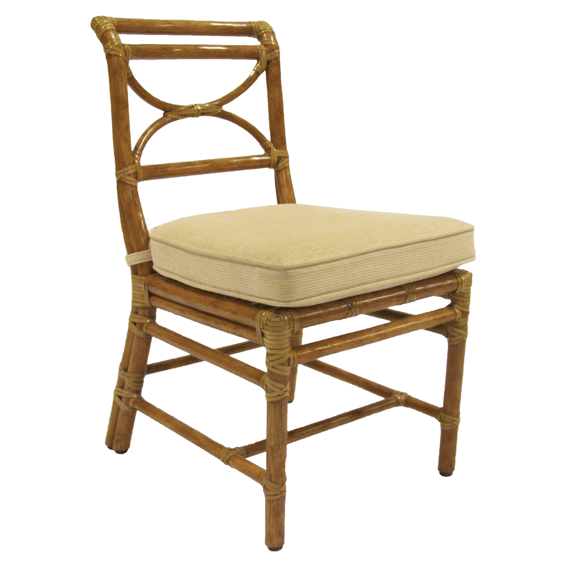 Regency Rattan Side Chair Kdrshowrooms Com