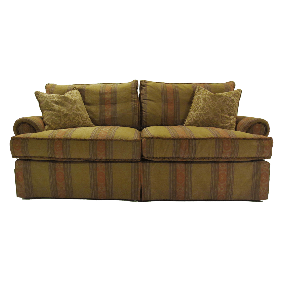 Huntington_Furniture_Co_Skirted_Sofa