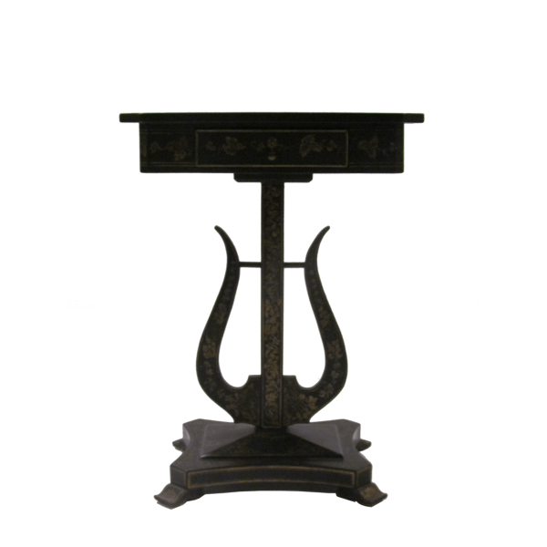 Artisan_Studios_Lyre_Table