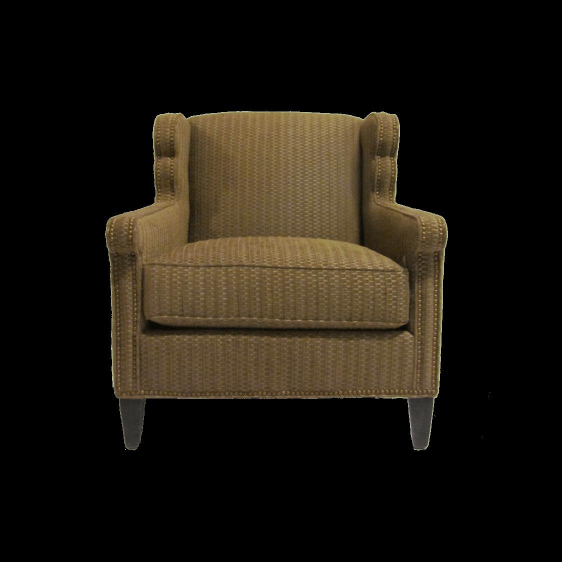 Huntington_Furniture_Co_Lounge_Chair- Modified Wingback