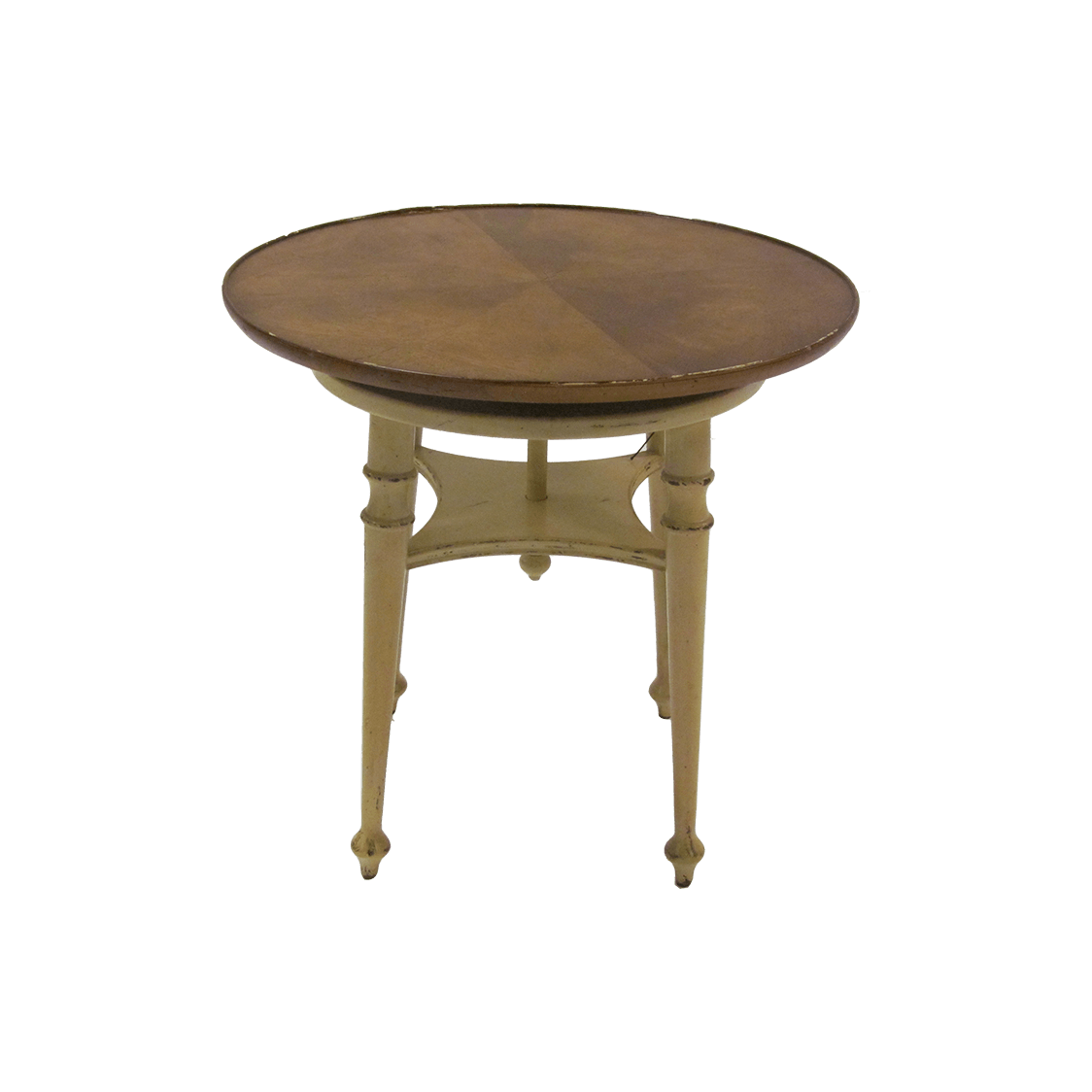 Baker Round Side Table - Roulette Twist