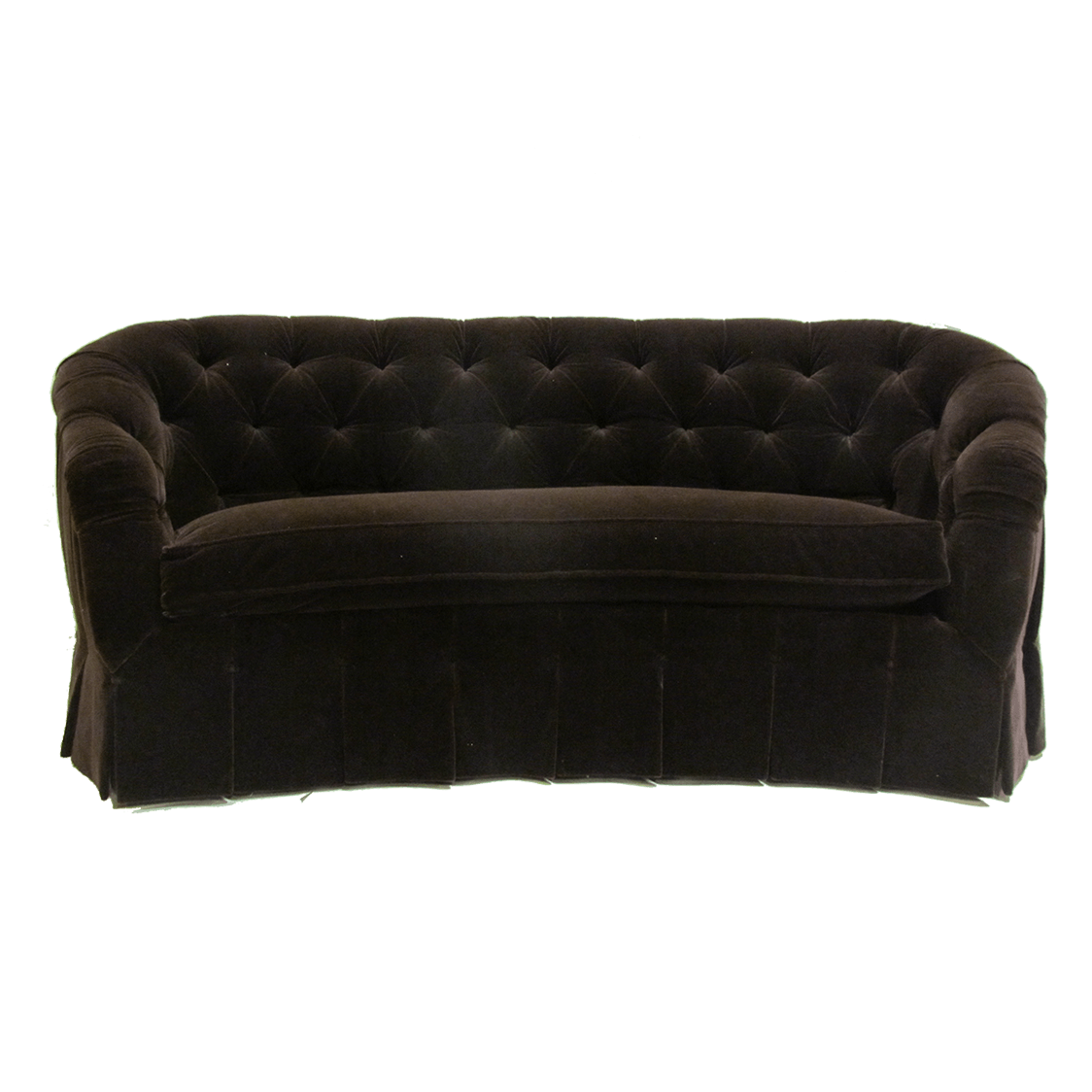 Magnificent Peyton Curved Tufted Sofa Home Interior And Landscaping Ologienasavecom