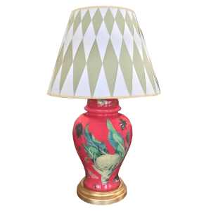 Carson & Company Decoupage Table Lamp