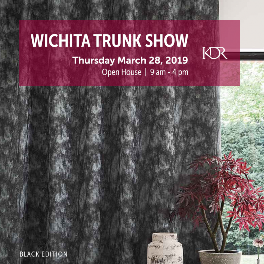 Wichita Spring Trunk Show: Thursday, March 28, 2019