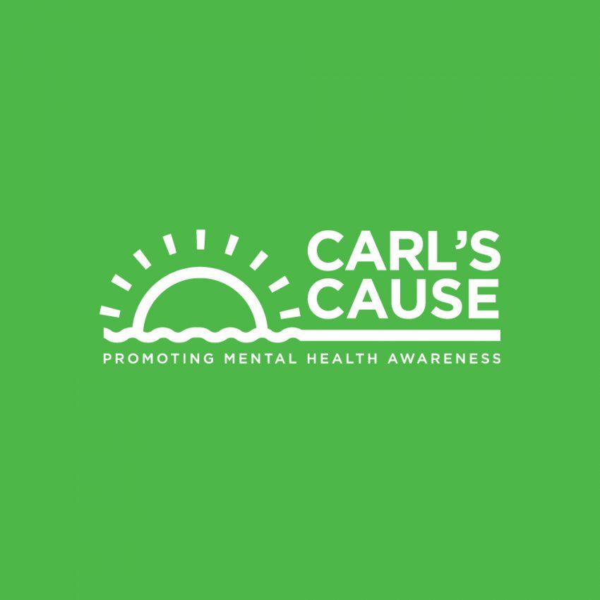 Carl's Cause Logo promoting mental health awareness.