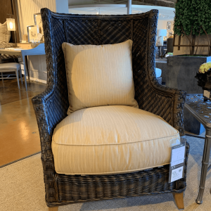 Tommy Bahama Island Estate Wicker Wing Chair