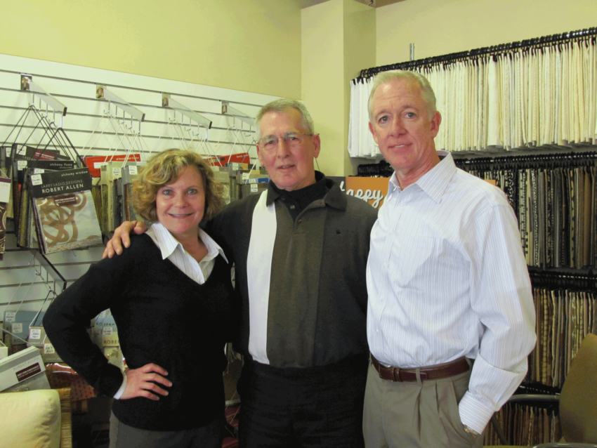 KDR Showrooms Retirees Susan Carter, Mike Huelsing and Kevin Kenney. St Louis Showroom 2012